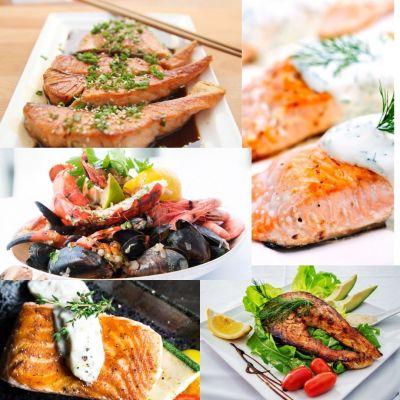 Meniu Fish and Seafood